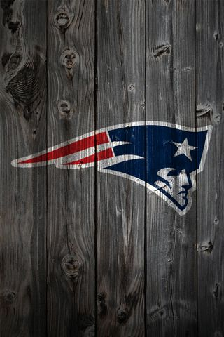 Patriot logo on an old fence