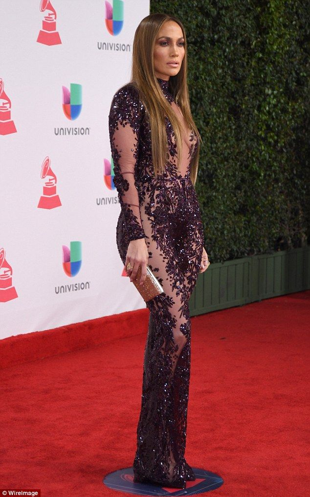 """Jennifer Lopez dazzled in a jumpsuit from Zuhair Murad like Jlo  Click """"Visit"""" to buy #DailyMail"""