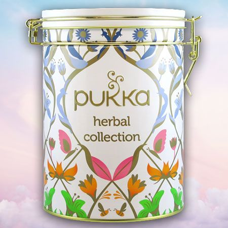 Pukka Tee Herbal Collection Tea Caddy, 30 teabags
