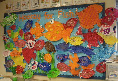 Hooray for Fish Display, class display, fish, underwater ...