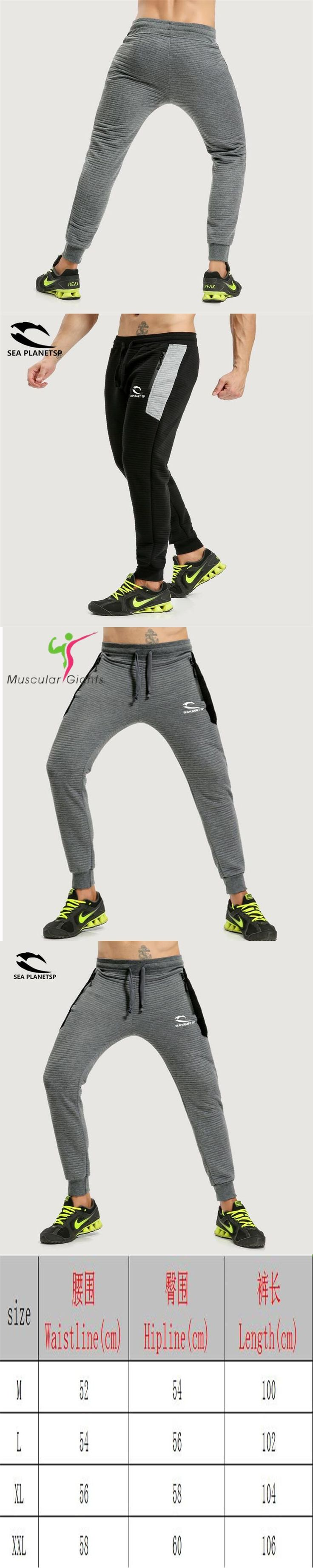 2017 Bodyboulding Mens Gyms Pants Brand Clothing Splice Cotton Trousers Professional Fitness Jogger Sweatpants Men High Quality