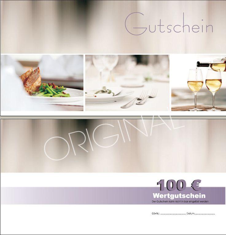 Restaurant Genuss Gutschein