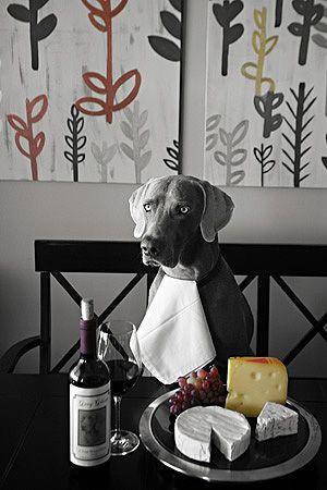 Swamp Dog & Friends™ Swamp Dog & Friends™ Collection 'Weim & Cheese'