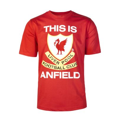LFC This is Anfield Tee. Was £15, now £10.