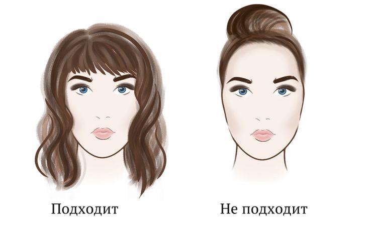 Стрижки для вытянутого лица