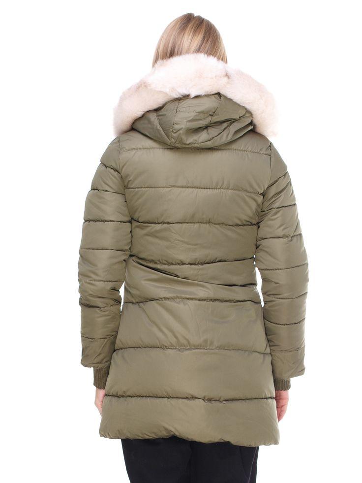 Куртка цвета хаки - Icon - 2654434