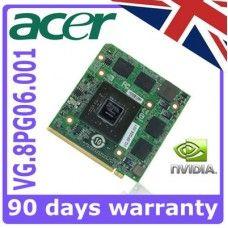 NVIDIA VG.8PG06.002 Acer Aspire 9920G 4520G 4710G 4930G 5520G 5920G Karta graficzna usługa naprawy