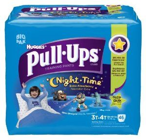 Huggies Pull-Ups Night-time Training Pants, Size 3T-4T, Boy, 46 Count (Pack of 2) -   - http://babyentry.com/baby/potty-training/training-pants/huggies-pullups-nighttime-training-pants-size-3t4t-boy-46-count-pack-of-2-com/