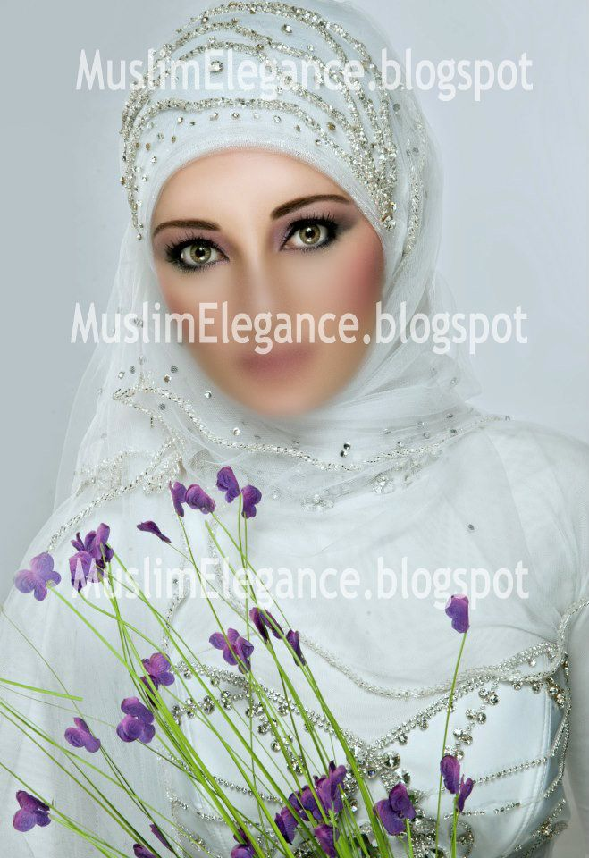 Bridal hijab style Ready to wear other colors by request contact : thepurplesharepoint@gmail.com