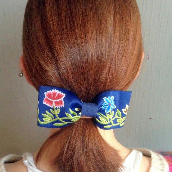 Nordlandsbunad hår