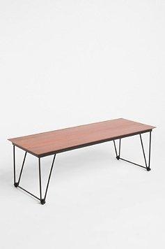 hairpin coffee table $159