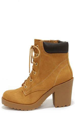 Womens Work Boots With High Heels 61