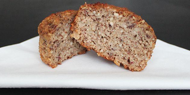 Sunde muffins med æble