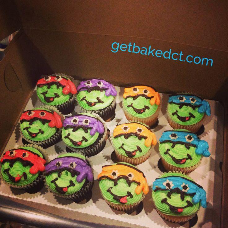 Teenage Mutant Ninja Turtle cuppys