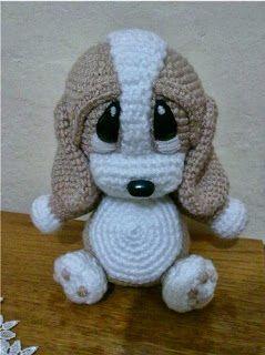 Puppy crochet amigurumi