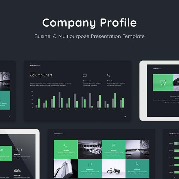 Company Profile Keynote Presentation Template Keynote Templates