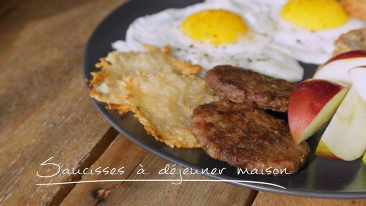 Saucisses à déjeuner maison | Cuisine futée, parents pressés