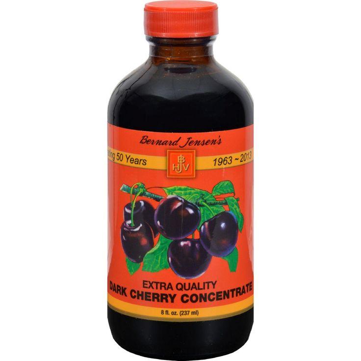 Bernard Jensen Black Cherry Concentrate Extra - 8 Fl Oz  #organic #inspiredbeacon #love  #ConcentratesAndJuices