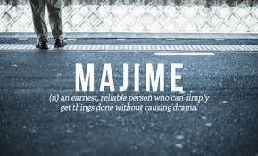 Word of the day#majime #wordoftheday #definedatfive