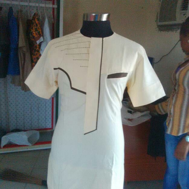 Nigerian male outfit traditional