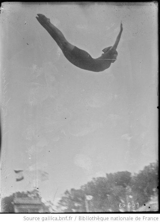 Anvers, plongeon d'une Suédoise [Jeux olympiques] : [photographie de presse] / [Agence Rol] - 1
