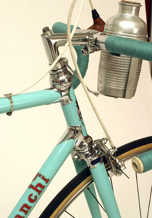 Guy Apple's 1951 Bianchi prototype