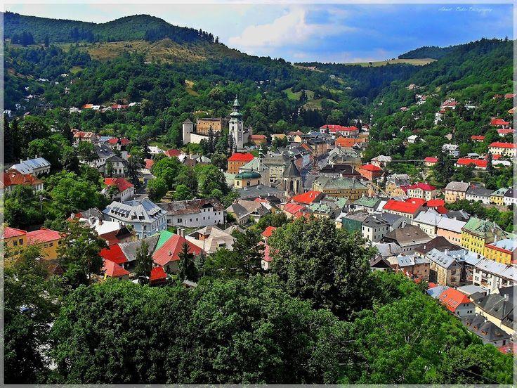 Banska Stiavnica - Pohľad z nového zámku
