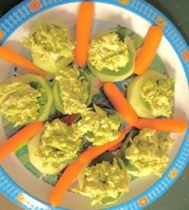 Green Angels: Recipe, Avocado Angels