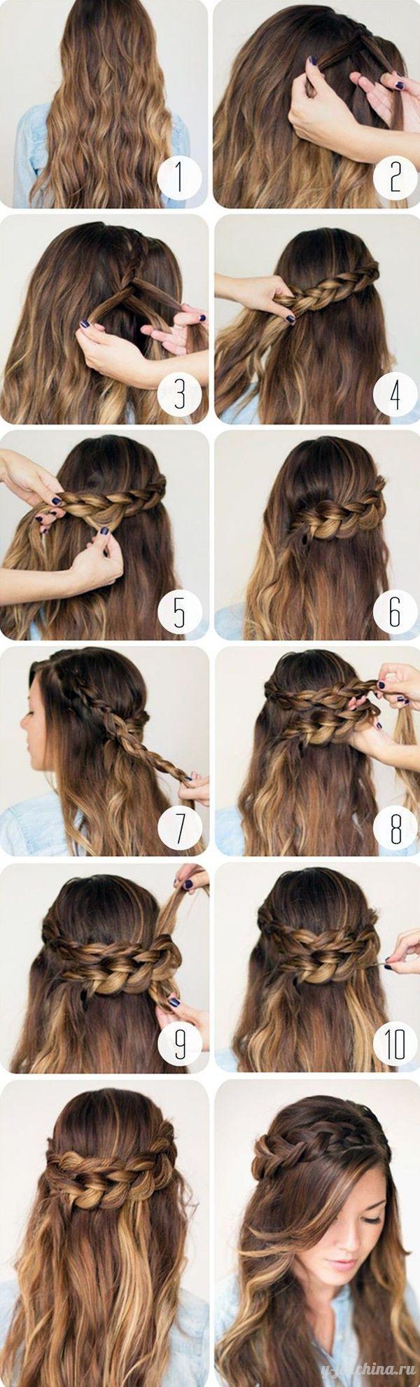 причёски на длинные волосы в домашних условиях зачіски на довге волосся long hair
