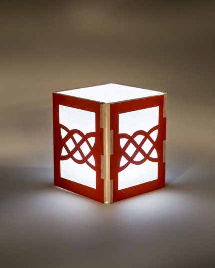 Celtic knot shadow lantern kit playing with paper