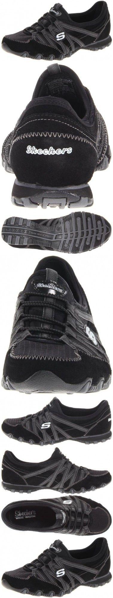 Skechers Sport Women's Verified Fashion Sneaker,Black/Charcoal,7.5 M US