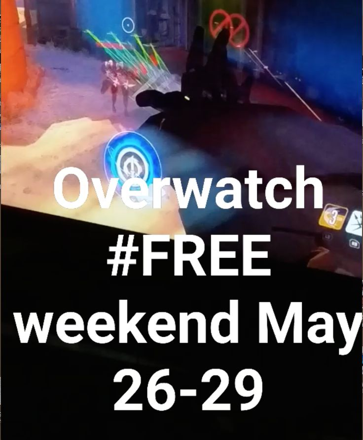 Overwatch #FREE #weekend - May 26 - 29 for #pc #ps4 and #xboxone 🖒https://www.facebook.com/images/emoji.php/v9/f8c/1/16/1f4bb.png?utm_campaign=crowdfire&utm_content=crowdfire&utm_medium=social&utm_source=pinterest💻https://www.facebook.com/images/emoji.php/v9/ff1/1/16/1f4af.png?utm_campaign=crowdfire&utm_content=crowdfire&utm_medium=social&utm_source=pinterest💯 https://playoverwatch.com/en-us/free-trial/… #overwatcg #blizzard Fear1ess3