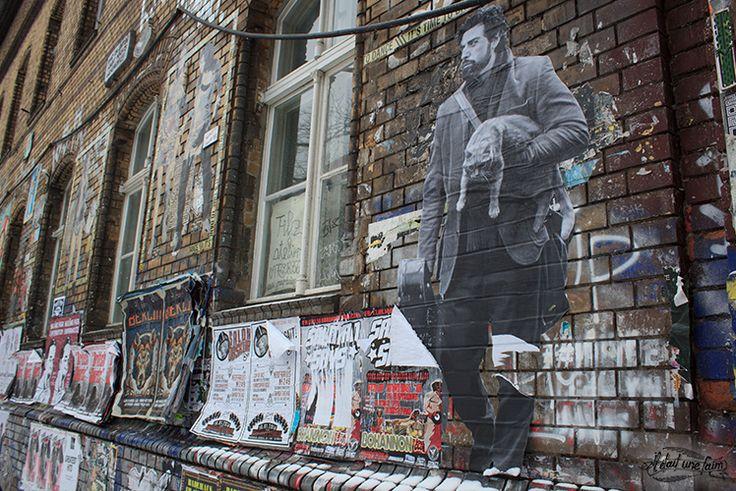 Street art in the streets of Berlin #streetart http://www.iletaitunefaim.com/ultimate-expedition-voyage-berlin/