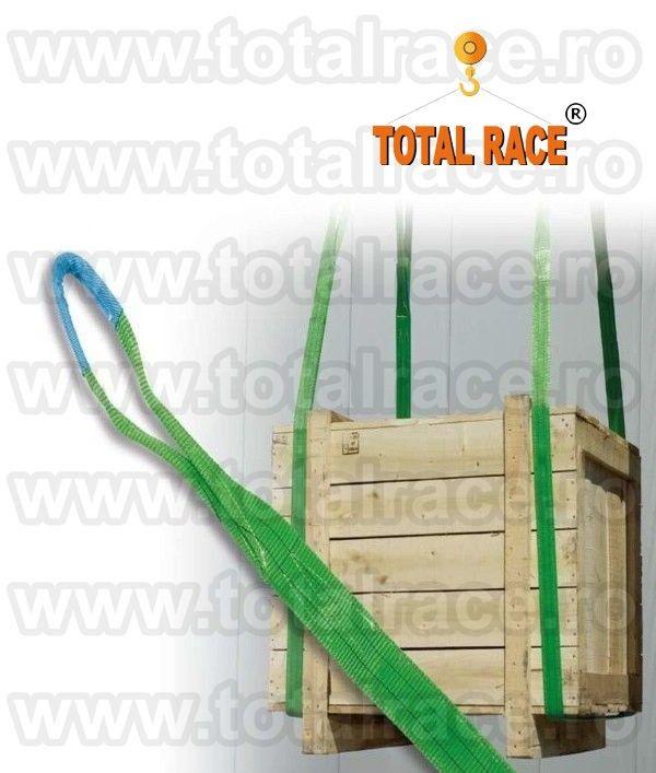 Livram din stoc Bucuresti chingi textile cu urechi pentru paleti capacitate de ridicare WLL 2 tone - latime banda 60 mm diverse lungimi Pret , date tehnice & stoc : http://echingi.ro/produse/chingi-ridicare/chingi-ridicare-urechi/mc-60-2-tone