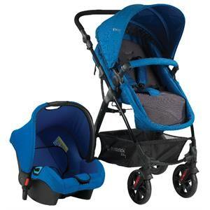 Hattrick BTS 500 Tomson Travel Bebek Arabası Mavi