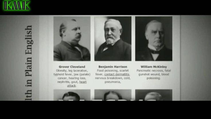 История болезни американских президентов https://youtu.be/W9_5LA6x6wE