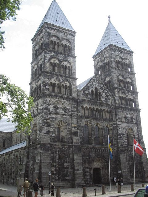 Lund, Sweden, Church with Astronomical Clock in Cathedral