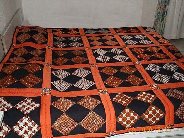 couvre lit mes oeuvres textiles pinterest lit. Black Bedroom Furniture Sets. Home Design Ideas