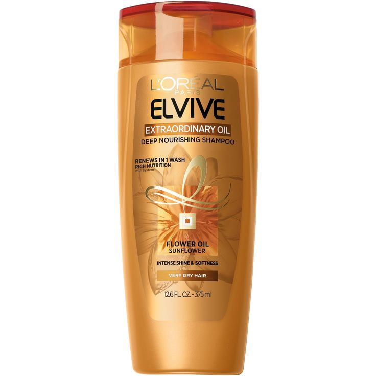 L'Oréal Paris Elvive Extraordinary Oils Crème Shampoo - 12.6 fl oz : Target