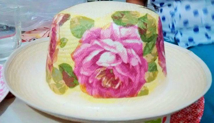Sombrero decorado