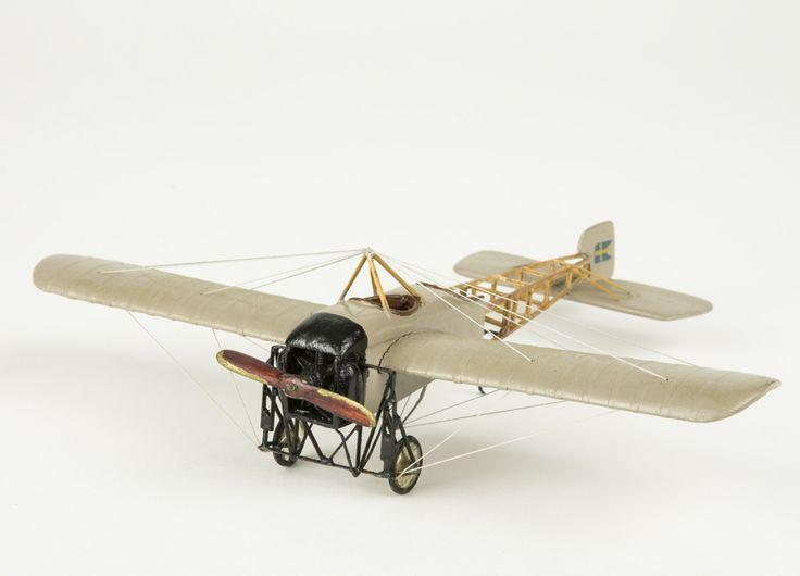 Model aeroplane Bleriot Avis [...]   Flygvapenmuseum   CC BY