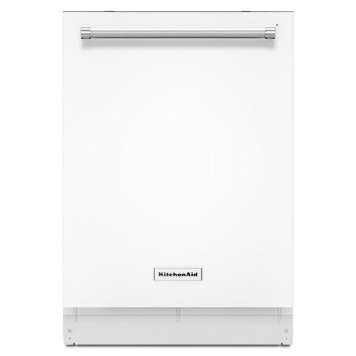 KitchenAid Dishwasher | White Stainless Steel 46 DBa Dishwasher Review