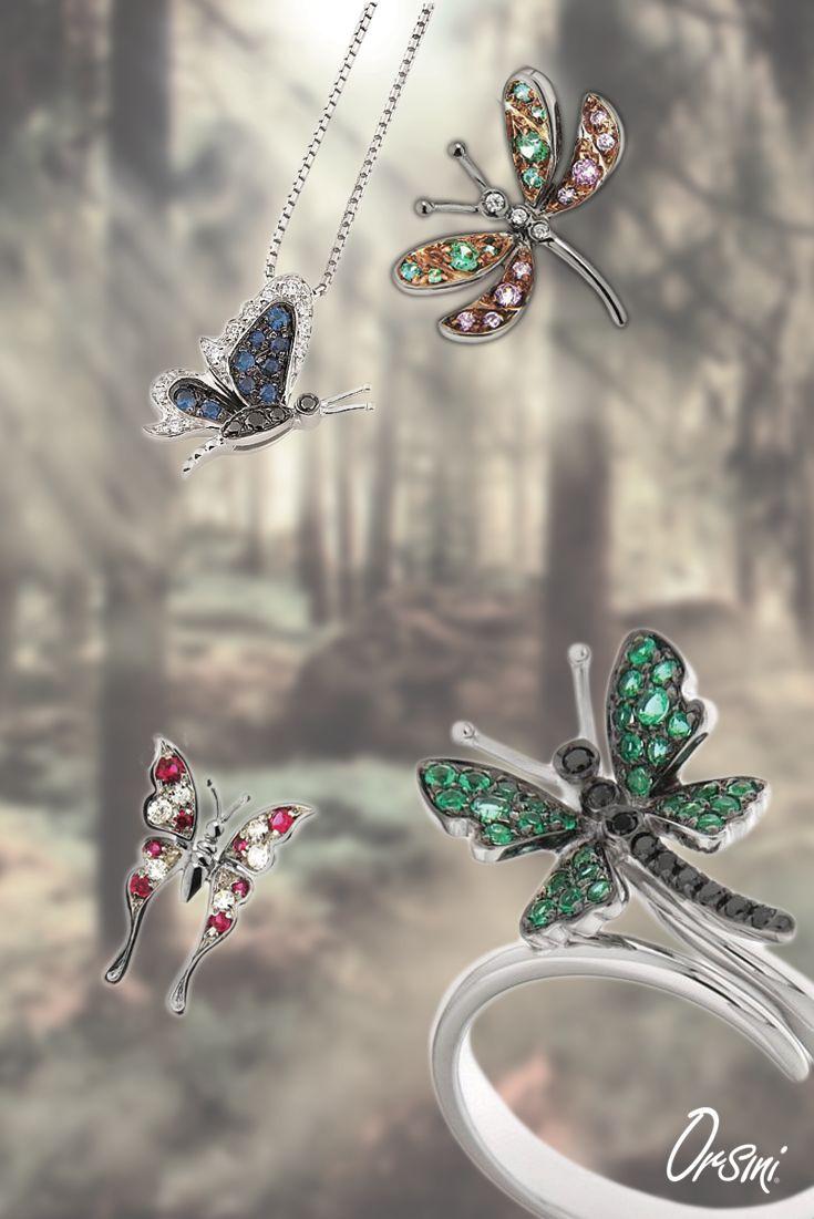 Il tuo #matrimonio come in una foresta incantata? Scegli le #farfallegioiello per te e per le tue damigelle!  In #oro ➡ http://vai.su/butterfly e in #argento ➡ http://vai.su/butterfly-ag