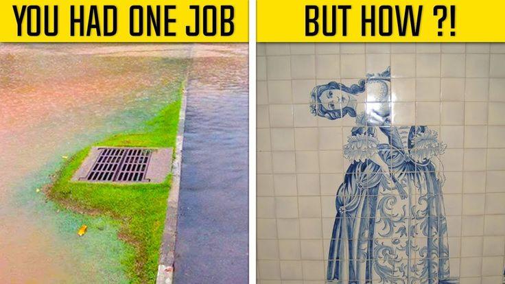 You Had One Job And You Failed | You had one job, One job ...