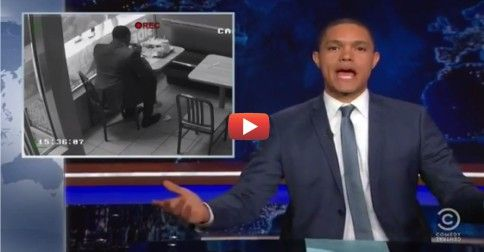 "Trevor Noah puts Carson in his place over his absurd ""rush the gunman"" remarks."