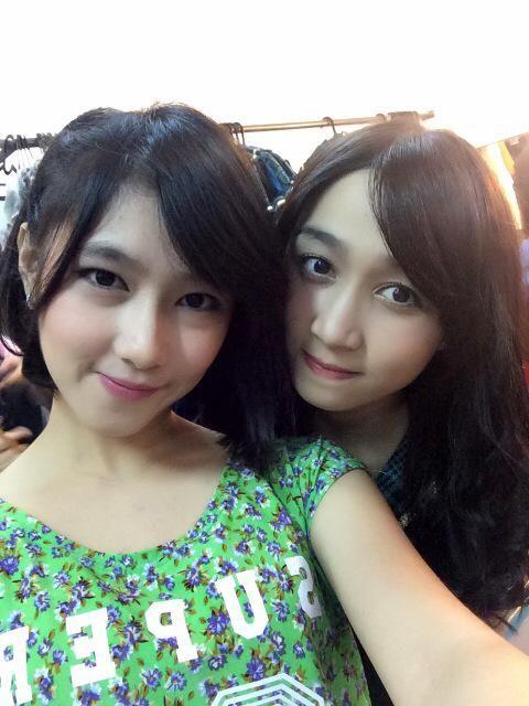 Dhike & Ayana JKT48