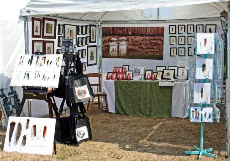 Art by the Lighthouse - Jody Edwards' booth