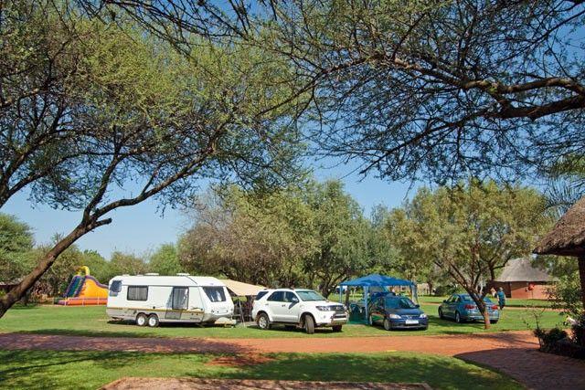Mbizi het goeie buiteseisoentariewe, maar bespreeek vroegtydig want die kampterrein is regdeur die jaar gewild.  Die 14 private staanplekke – elk met sy eie ablusieblok – het 'n moderne afwerking, en hier is 'n restaurant, borrelbad en verhitte binneswembad.  Kampplek: 242 plat staanplek-ke – bos- én gewone staanplek-ke – waarvan 14 privaat is, elk met 'n eie badkamer.