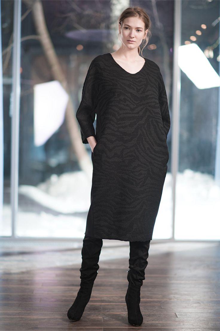 Купить Платье Овал, среднее, жаккард от Lesel (Лесель) дизайнер одежды