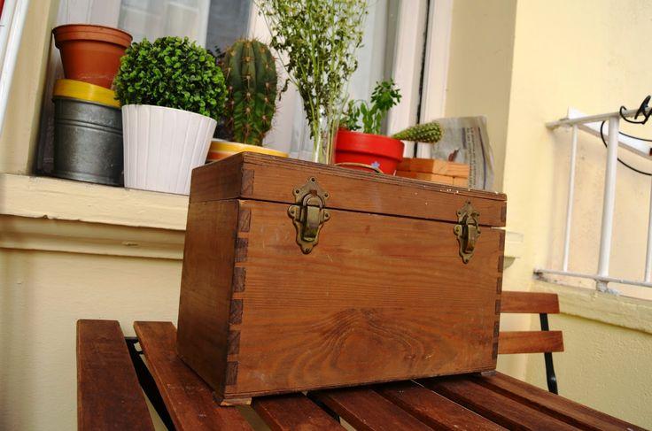 Nueva vieja caja de herramientas para casa diy y for Casa para herramientas